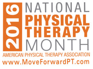 2016 Physical Therapy Month